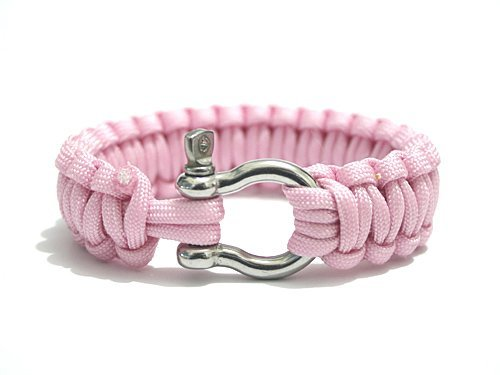 stainless-D-shackle-Paracord-Survival-Bracelet-outdoor-military-pink-br20.jpg